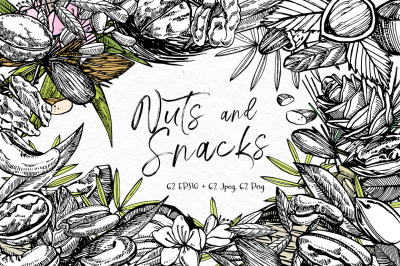 Nuts and snacks