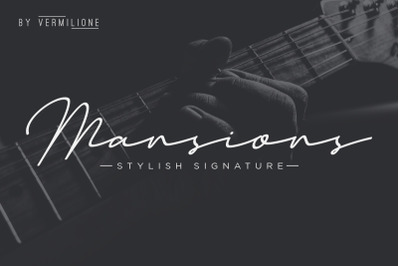 Mansion Stylish Signature