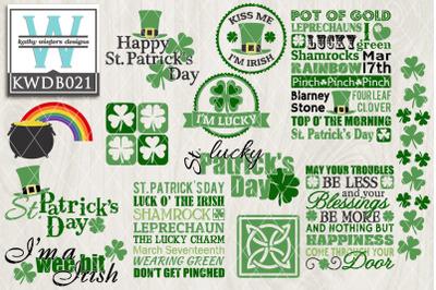 BUNDLE St. Patrick's  KWDB021
