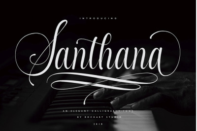 Santhana Calligraphy