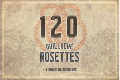 Guilloche 216 Rosettes Kit
