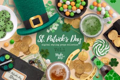 St. Patric's Day Scene Creator Vol.1
