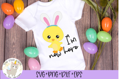 Im New Here Easter SVG cut File