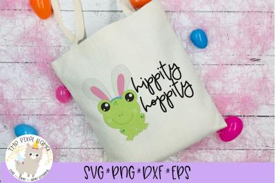 Hippity Hoppity Easter Frog SVG Cut File