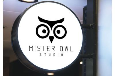 Mister Owl Logo Design and Patterns