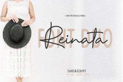 Reinata / Font duo