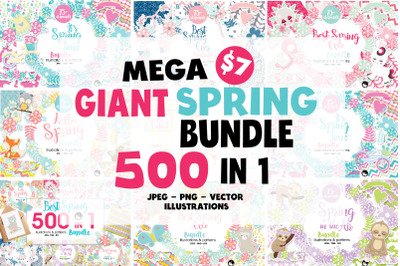 Mega Spring Bundle - 500 in 1