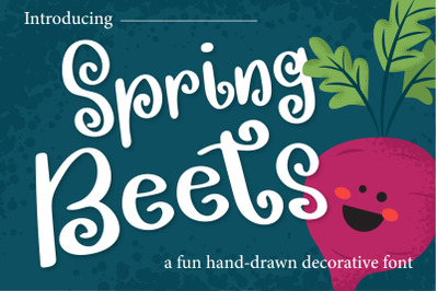 Spring Beets Font