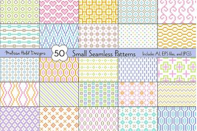 Small Seamless Geometric Patterns