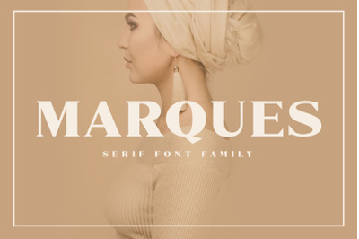 Marques - Modern Serif Font Family