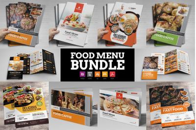 Food Menu Restaurant Brochure Bundle