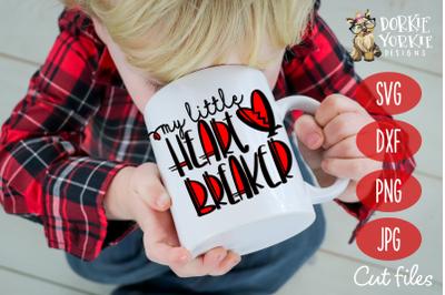 Heartbreaker Hand lettered - Heart, Breaker, Valentine, SVG Cut File