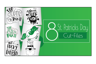 St.Patricks Day Cut-Files (Mini Bundle)