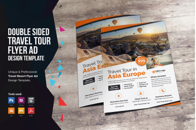 Travel Resort Flyer Design v2