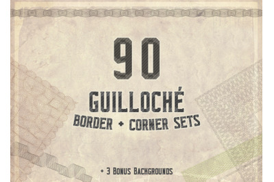 Guilloche 90 Frames Kit