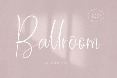 Ballroom Font With 100 Ligatur