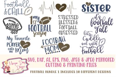 Football Bundle 1 SVG