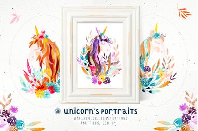 Unicorn's Portraits
