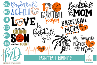 Basketball SVG Bundle 2