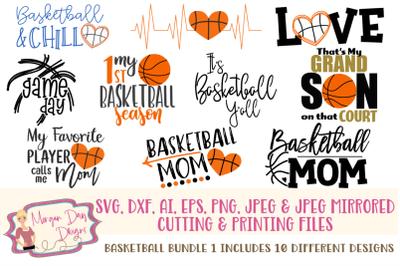Basketball Bundle 1 SVG