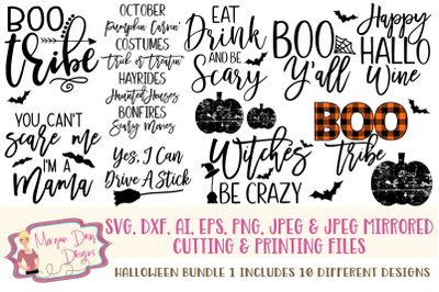 Halloween Bundle 1 SVG