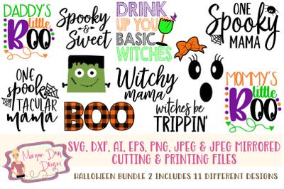 Halloween Bundle 2 SVG
