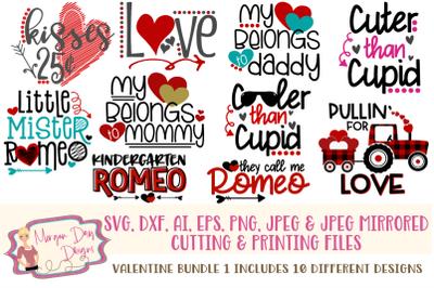 Valentine Bundle 1 SVG