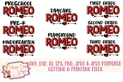 Romeo Bundle SVG