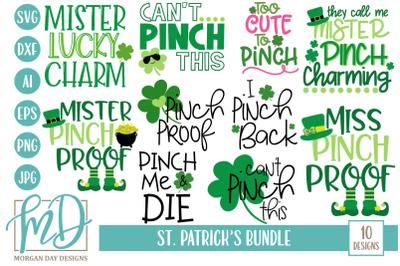 St Patrick's SVG Bundle
