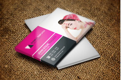 Fashion Beauty Business Cards