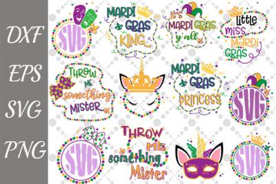 Mardi Gras Svg Bundle, Mardi gras king svg,little Miss Svg