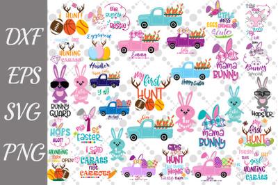 Easter Svg Bundle, EASTER BUNDLE SVG, Easter Truck Svg