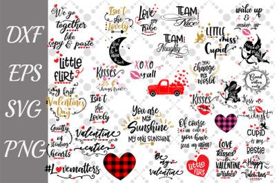 Valentine's Day Bundle Svg, LOVE SVG BUNDLE,  Cupid Svg