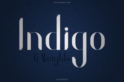 Indigo Typeface - 6 Weights
