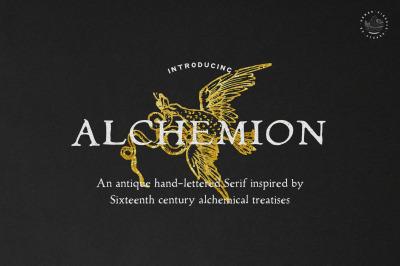 Alchemion Display Serif