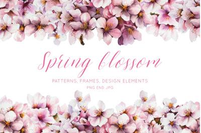 Spring blossom set