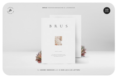 BRUS Fashion Magazine & Lookbook