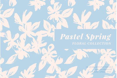 Pastel Spring Pattern Collection
