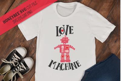 Love Machine SVG Cut File