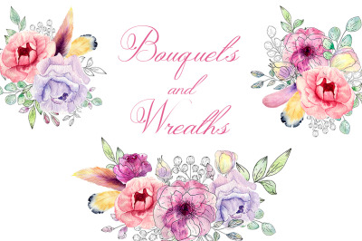 Bouquets and Wreaths
