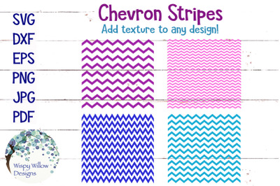 Chevron Stripes SVG Bundle