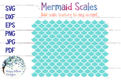 Mermaid Scales SVG