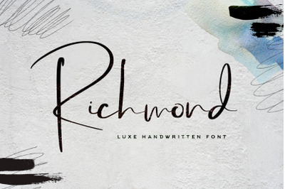 Richmond Font