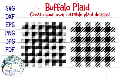 Buffalo Plaid SVG Bundle