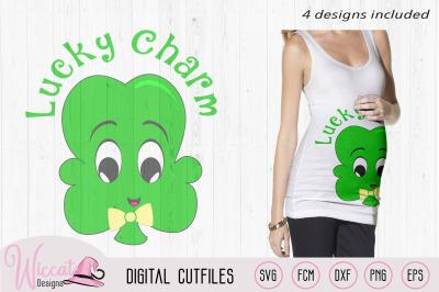 Clover svg, lucky Clover svg, lucky charm, shamrock, St Patricksday