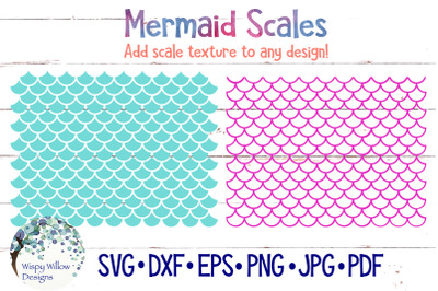 Mermaid Scale SVG Bundle