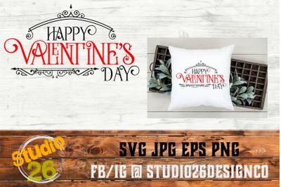 Happy Valentine's Day - SVG PNG EPS