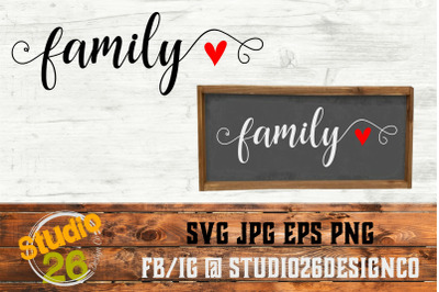 Family - SVG EPS PNG