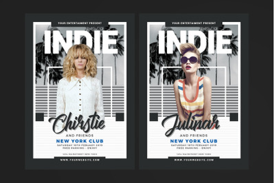 Indie Music Flyer