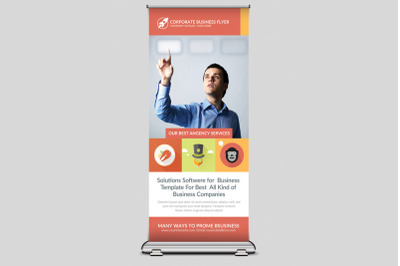 Elegant Business Rollup Banner